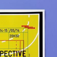 Affiche restrospective site vignette coul