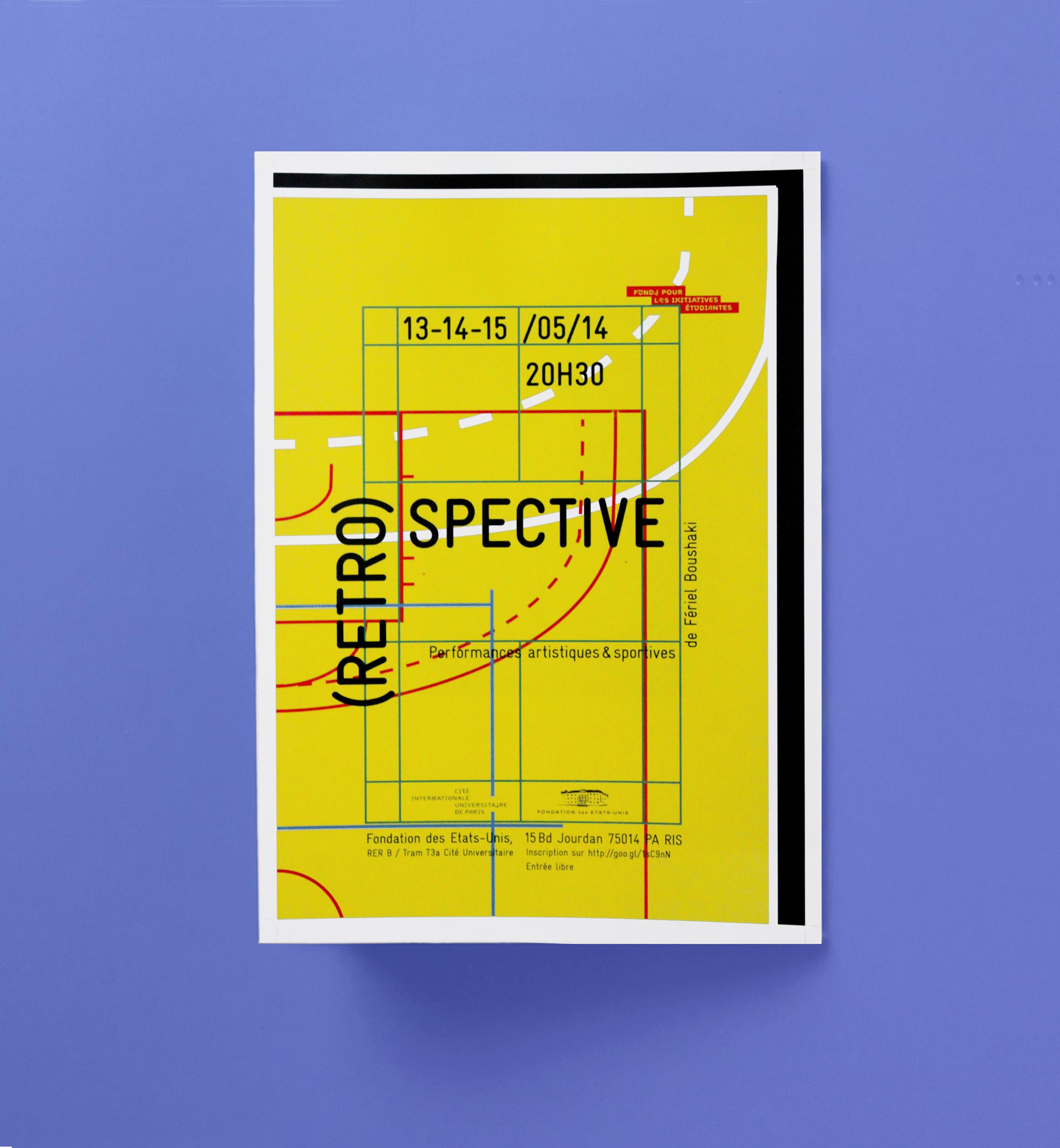 Affiche restrospective site